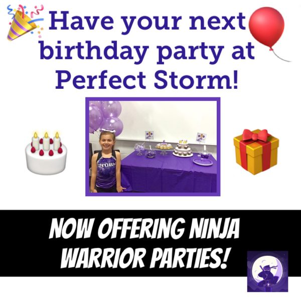 Birthday Parties Perfect Storm Athletics Edmonton